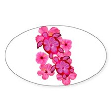 Hawaiian Honu And Hibiscus Decal
