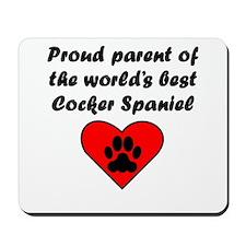 Cocker Spaniel Parent Mousepad