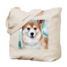 Corgi Smiles Tote Bag