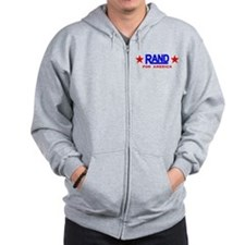 Rand Paul For America Zip Hoodie