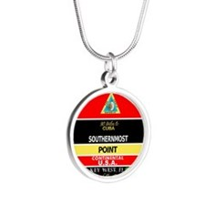Southernmost Point Buoy Key West Necklaces