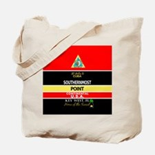 Southernmost Point Buoy Key West Tote Bag