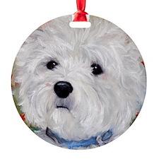 Fuzzy Face Ornament