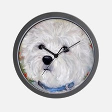 Fuzzy Face Wall Clock