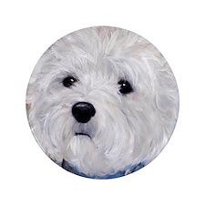 """Fuzzy Face 3.5"""" Button"""