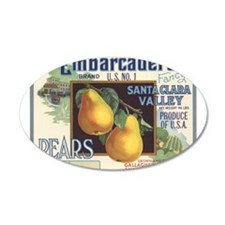 Vintage Fruit Vegetable Crate Label Wall Decal