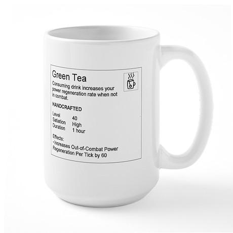 Green Tea Large Mug