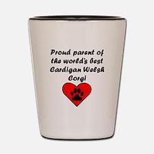 Cardigan Welsh Corgi Parent Shot Glass