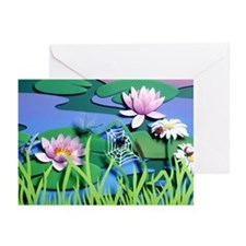 Good Morning Garden Greeting Cards (Pack