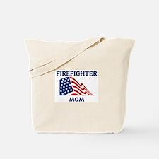 Firefighter MOM (Flag) Tote Bag