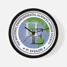 Pi Epsilon 3D Logo Wall Clock