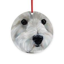Paddy Bear Round Ornament