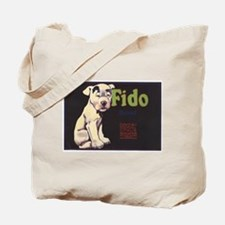 Fido Vintage Fruit Vegetable Crate Label Tote Bag