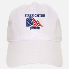 Firefighter JUNIOR (Flag) Baseball Baseball Cap