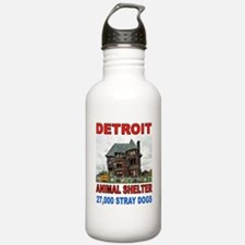 DETROIT ANIMAL SLUMS Water Bottle