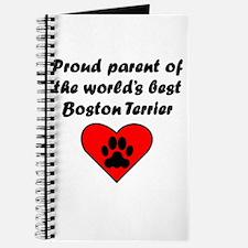 Boston Terrier Parent Journal