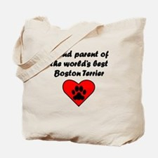 Boston Terrier Parent Tote Bag