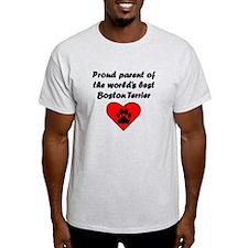 Boston Terrier Parent T-Shirt