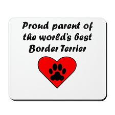 Border Terrier Parent Mousepad