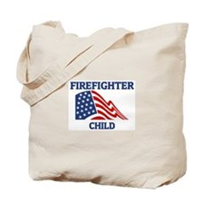 Firefighter CHILD (Flag) Tote Bag