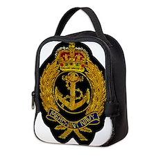 UK Merchant Navy patch Neoprene Lunch Bag