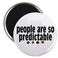 """So Predictable 2.25"""" Magnet (10 pack)"""