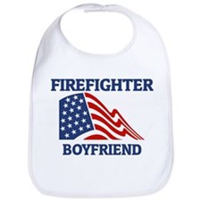 Firefighter BOYFRIEND (Flag) Bib