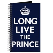 Long Live the Prince - Navy Blue Journal