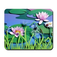 Good Morning Garden Mousepad