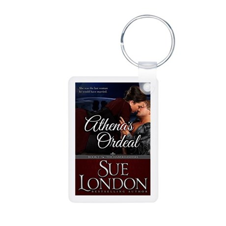 Athena's Ordeal Book Cover Keychains