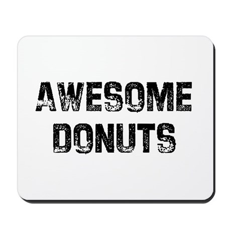 Awesome Donuts Mousepad