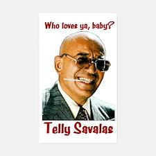 Savalas.TV Rectangle Decal