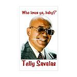Savalas.TV Rectangle Sticker