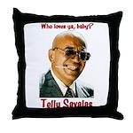 Savalas.TV Throw Pillow