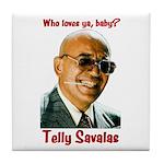 Savalas.TV Tile Coaster