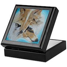 Ryan James Brandy & Molly Portrait Keepsake Box