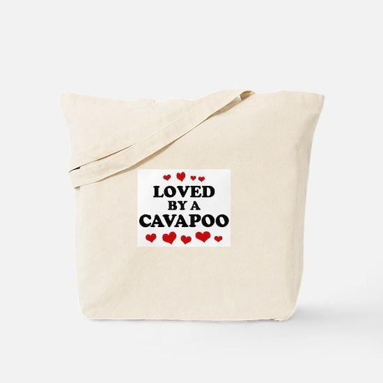 Loved: Cavapoo Tote Bag