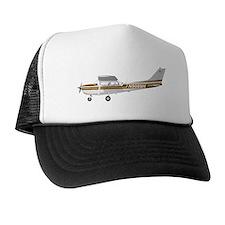 Cessna 172 Skyhawk Brown Trucker Hat
