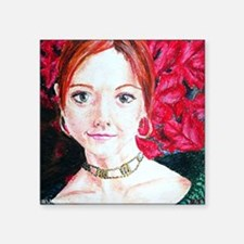 "Ryan James Alyson Hannigan  Square Sticker 3"" x 3"""