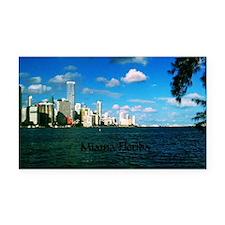 Miami Florida Rectangle Car Magnet