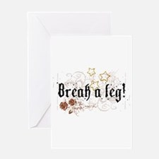 Break a Le Greeting Cards