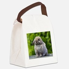 Cute Bunny Canvas Lunch Bag