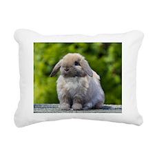 Funny Lop Rectangular Canvas Pillow
