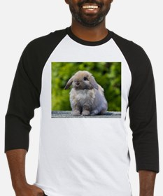 Cute Holland lop rabbit Baseball Jersey