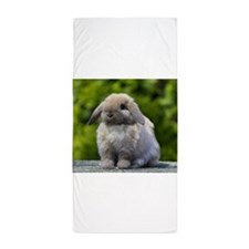 Cute Bunnies Beach Towel