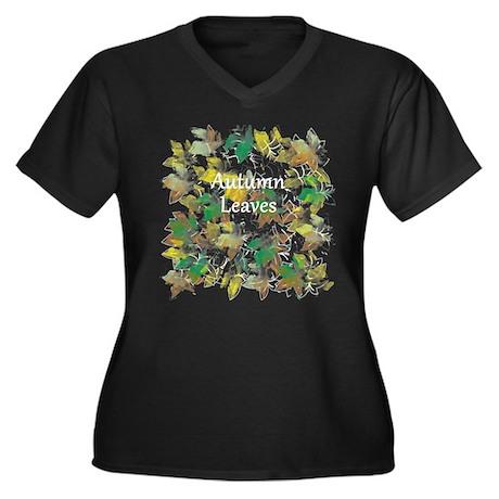 2013_08_29 - Autumn Leaver Blanco Plus Size T-Shir