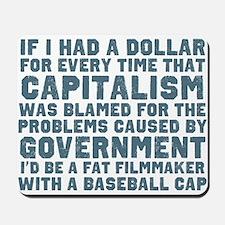 Blaming Capitalism Mousepad