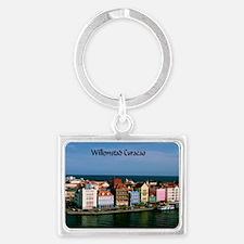 Willemstad Curacao Landscape Keychain