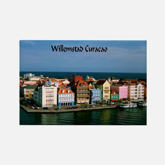 Willemstad Curacao Rectangle Magnet