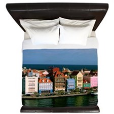 Willemstad Curacao King Duvet